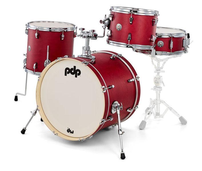 DW PDP Spectrum Rock Kit Red