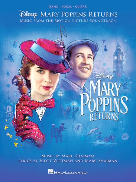 Hal Leonard Mary Poppins Returns PVG