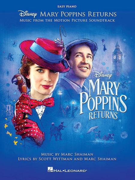 Hal Leonard Mary Poppins Returns Easy