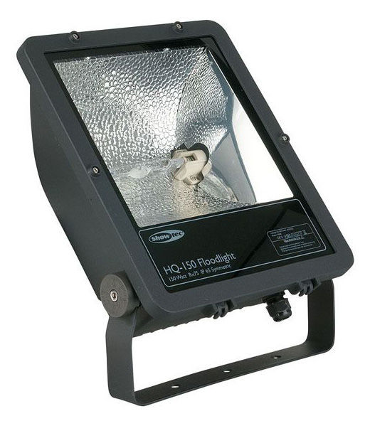 Showtec Floodlight HQ-150 Black SYM