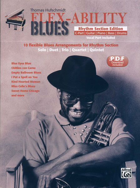 Alfred Music Publishing Flex-Ability Blues Rhythm Sect