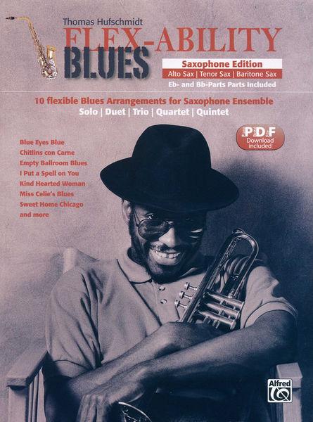Alfred Music Publishing Flex-Ability Blues Saxophone