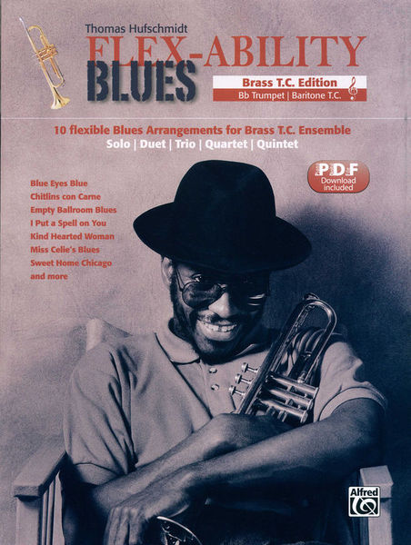 Alfred Music Publishing Flex-Ability Blues Brass T.C.