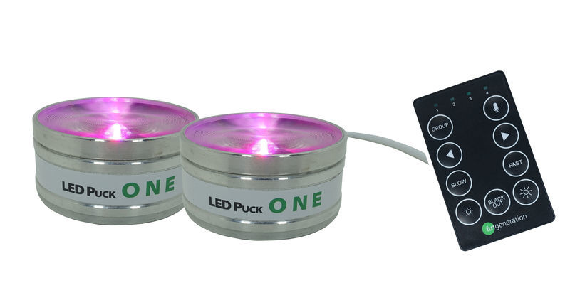 Fun Generation LED Puck ONE Set of 2