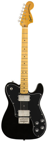 SQ CV 70s Tele DLX MN BK Fender