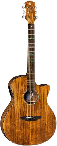 High Tide Koa Grand Concert AE Luna Guitars