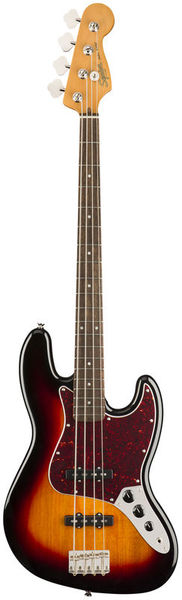 SQ CV 60s Jazz Bass LRL 3TS Fender