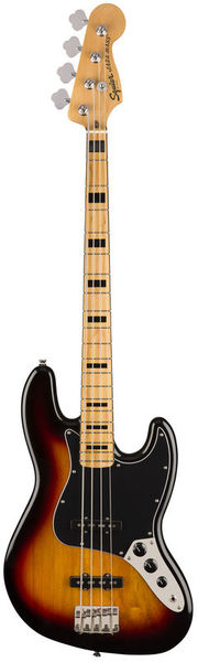 SQ CV 70s Jazz Bass MN 3TS Fender