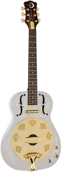 Luna Guitars Steel Magnolia Resonator EC
