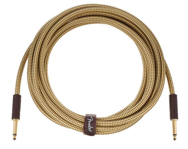 Fender Deluxe Cable 5,5m Tweed N