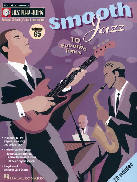 Hal Leonard Jazz Play Along Smooth Jazz