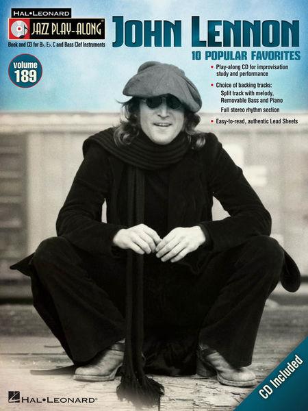 Jazz Play-Along John Lennon Hal Leonard