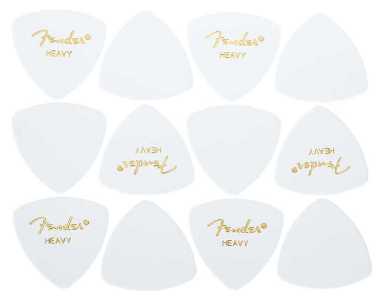 Fender Triangle Picks WH Set Heavy