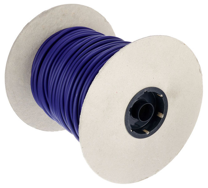 DMX Cable Roll 5Pin 100m BL Stairville