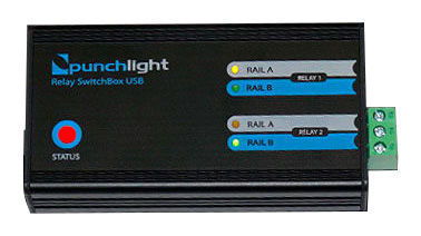 Relay SwitchBox USB Punchlight