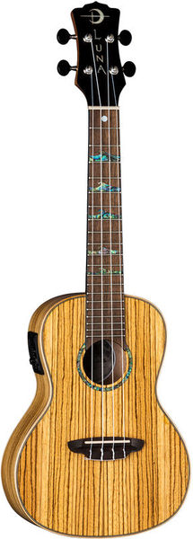 Uke High Tide Zebra Concert Luna Guitars