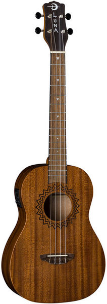 Uke Vintage Mahogany Baritone Luna Guitars