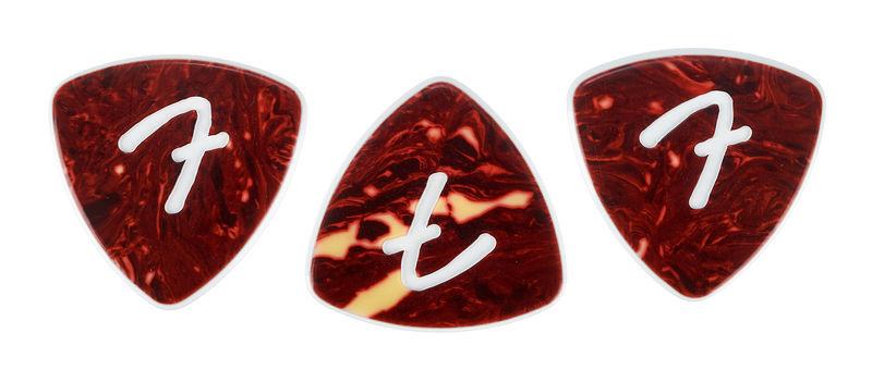 Fender 346 F Grip Shell Pick Set
