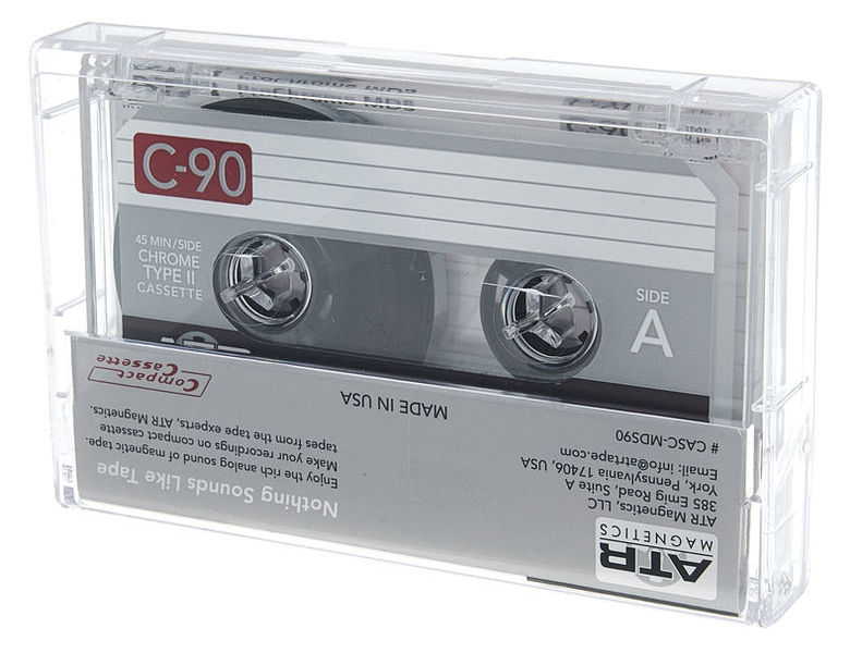 ATR Magnetics ProChrome Master Cassette C90