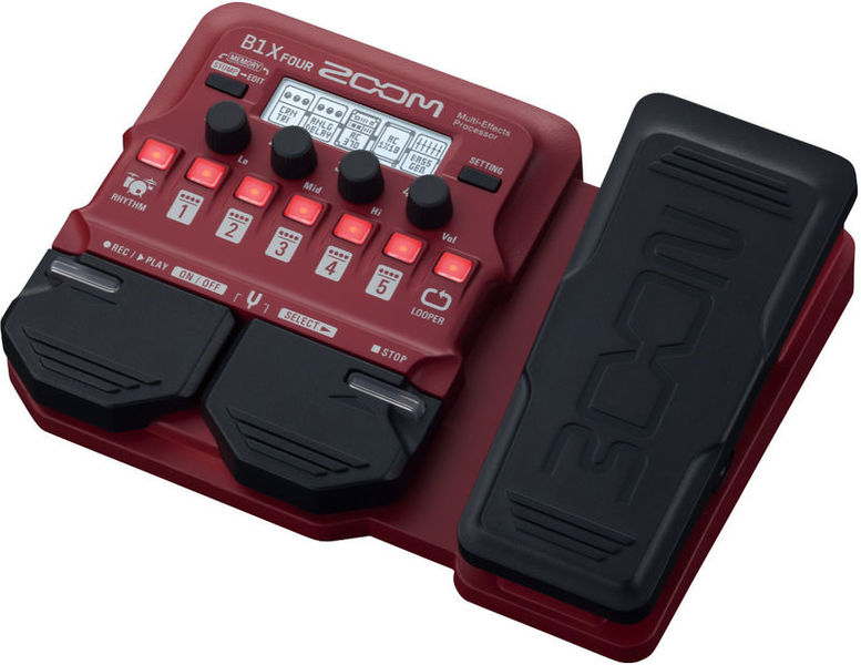 Zoom B1X Four Bass Multi Effect