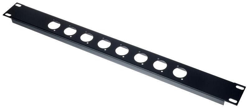 Flyht Pro Rack Panel 1U 8x XLR D-Format