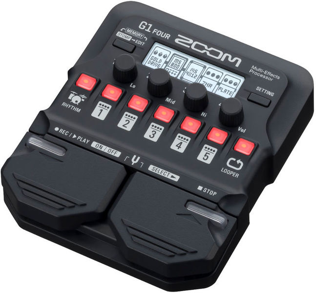G1 Four Multi-Effect-Pedal Zoom