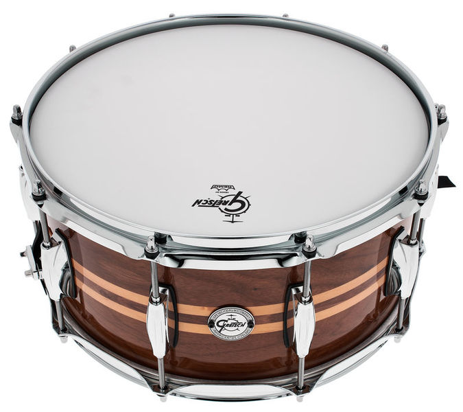 "Gretsch 14""x6,5"" Walnut Gloss Snare"