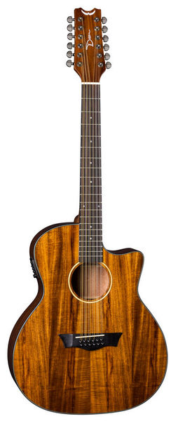 Dean Guitars AXS Exotic Cutaway A/E 12 Koa