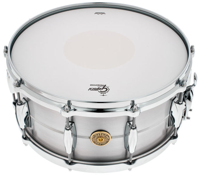 "Gretsch 14""x6,5"" Solid Aluminum Snare"