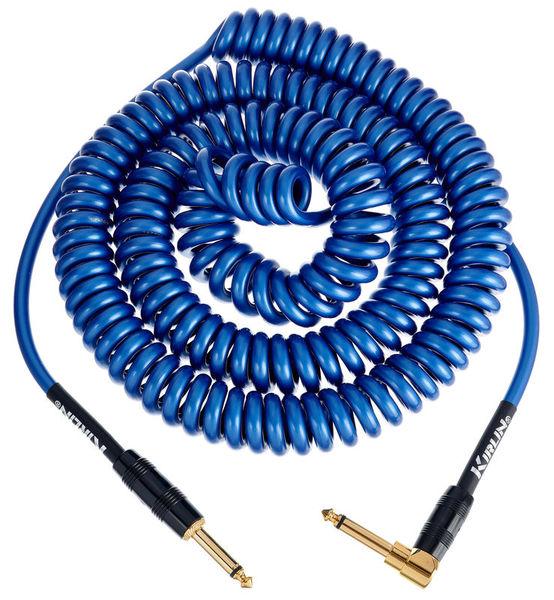 Kirlin Premium Coil Cable 9m Blue
