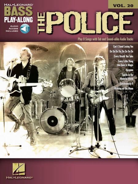 Bass Play-Along The Police Hal Leonard