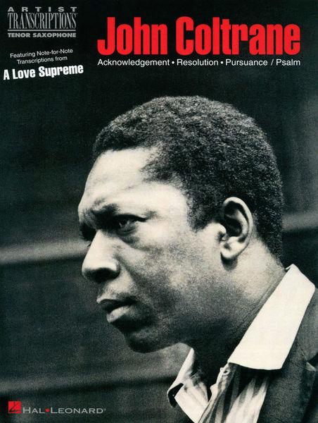 Hal Leonard Coltrane A Love Supreme T-Sax