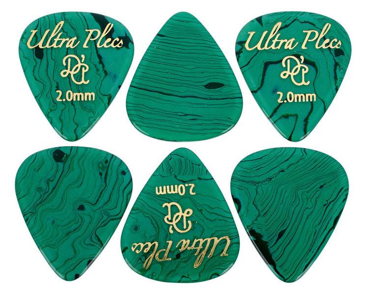 dAndrea Ultra Plecs 2mm Pick Set GEM