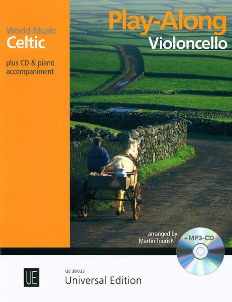 Universal Edition Celtic Play-Along Cello