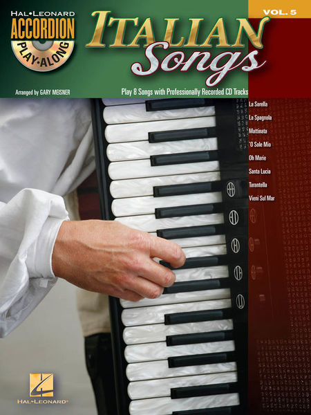 Hal Leonard Accordion Play-Along Italian