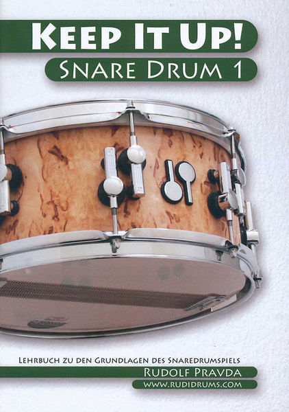 Rudolf Pravda Keep It Up - Snare Drum 1