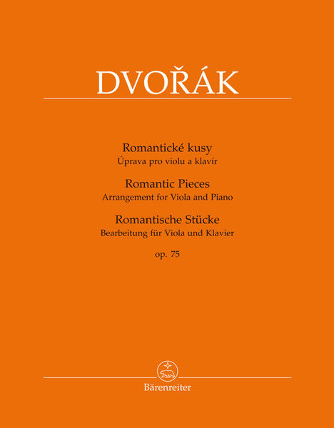 Bärenreiter Dvorák Romantic Pieces op.75