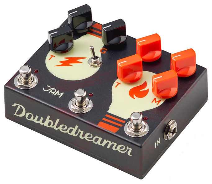 Doubledreamer Dual Overdrive Jam Pedals