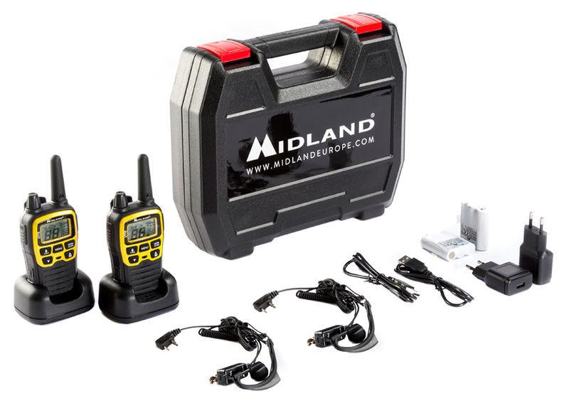 Midland XT70 Adventure Kofferset