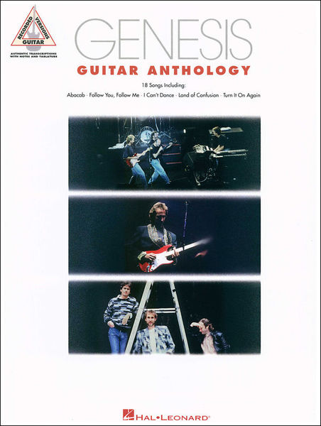 Hal Leonard Genesis Guitar Anthology