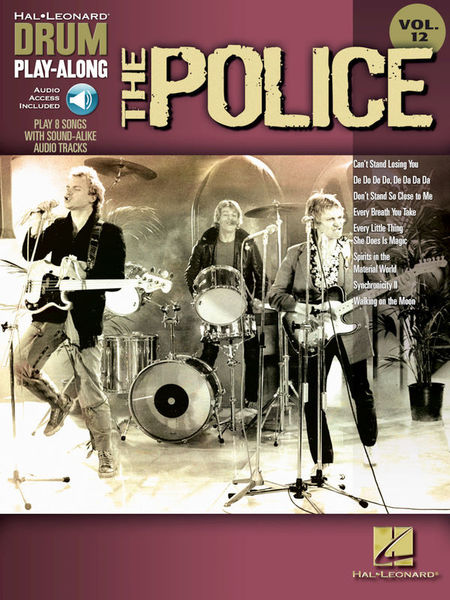 Hal Leonard Drum Play-Along The Police