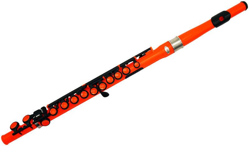 Nuvo Student Flute orange