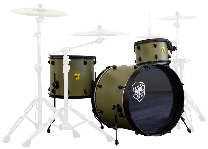 "Josh Dun ""Bandito"" Shell Set SJC Drums"