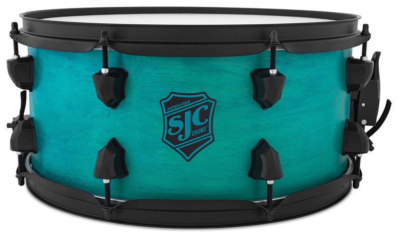 "SJC Drums 14""x6,5"" Pathfinder Snare Teal"