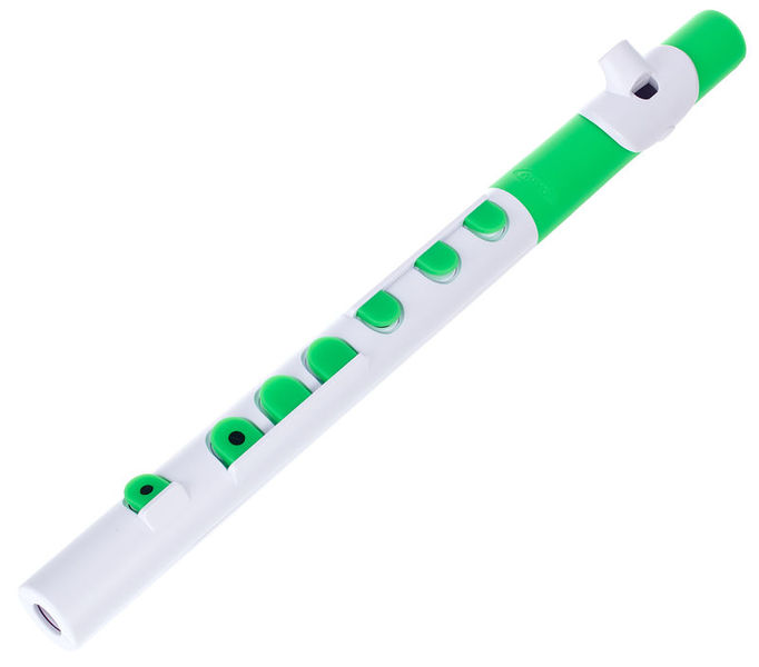 Nuvo TooT 2.0 white-green with keys