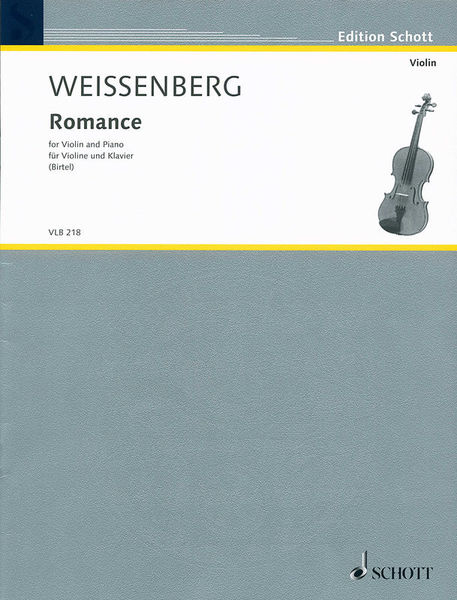 Schott Weissenberg Romance Violin
