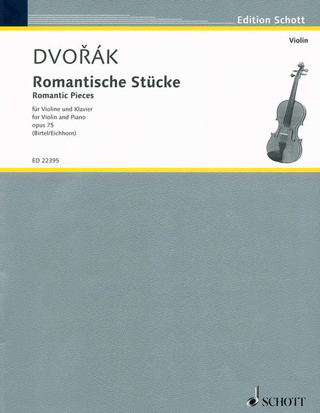 Schott Dvorák Romantische Violin