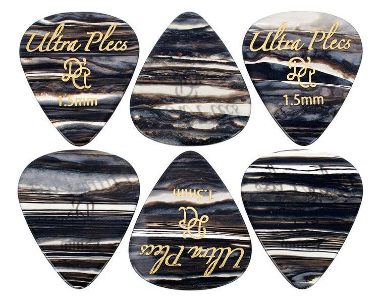 dAndrea Ultra Plecs 1,5mm Pick Set BKO