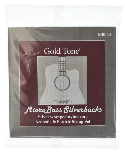 Gold Tone MBLNS Micro Bass String Set