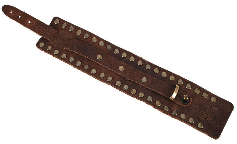 Minotaur Wristband Pick-Holder Brown